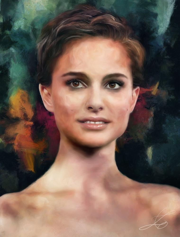 Natalie Portman by z6ig